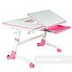 Комплект подростковая парта для школы AmarePink + ортопедическое кресло Buono Pink FunDesk, фото 4