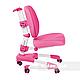 Комплект подростковая парта для школы AmarePink + ортопедическое кресло Buono Pink FunDesk, фото 6