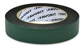 Лента двухсторонняя Favorit усиленная черная 25 мм х 5 м (10-467-1)
