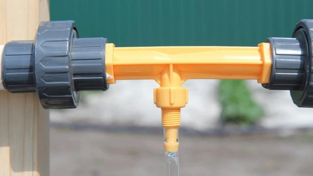 Инжектор Вентури для капельного полива