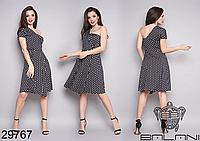Платье в горошек Фабрика моды Одесса Украина размеры: 42-46