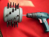Насадка на дрель для снятия оперения голубей и перепелов на 30 пальцев