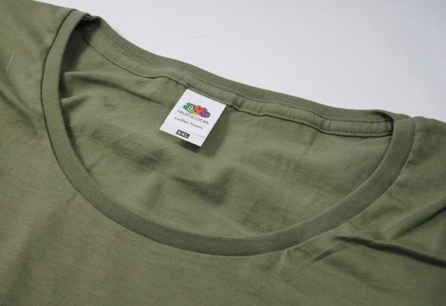 Оливковая женская футболка Iconic
