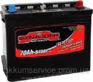 Аккумулятор автомобильный Sznajder Plus Japan 70AH R+ 540А (57029)