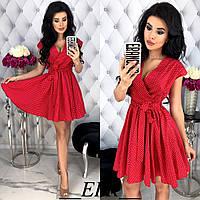 """Стильное платье мини """" Горох """" Dress Code , фото 1"""