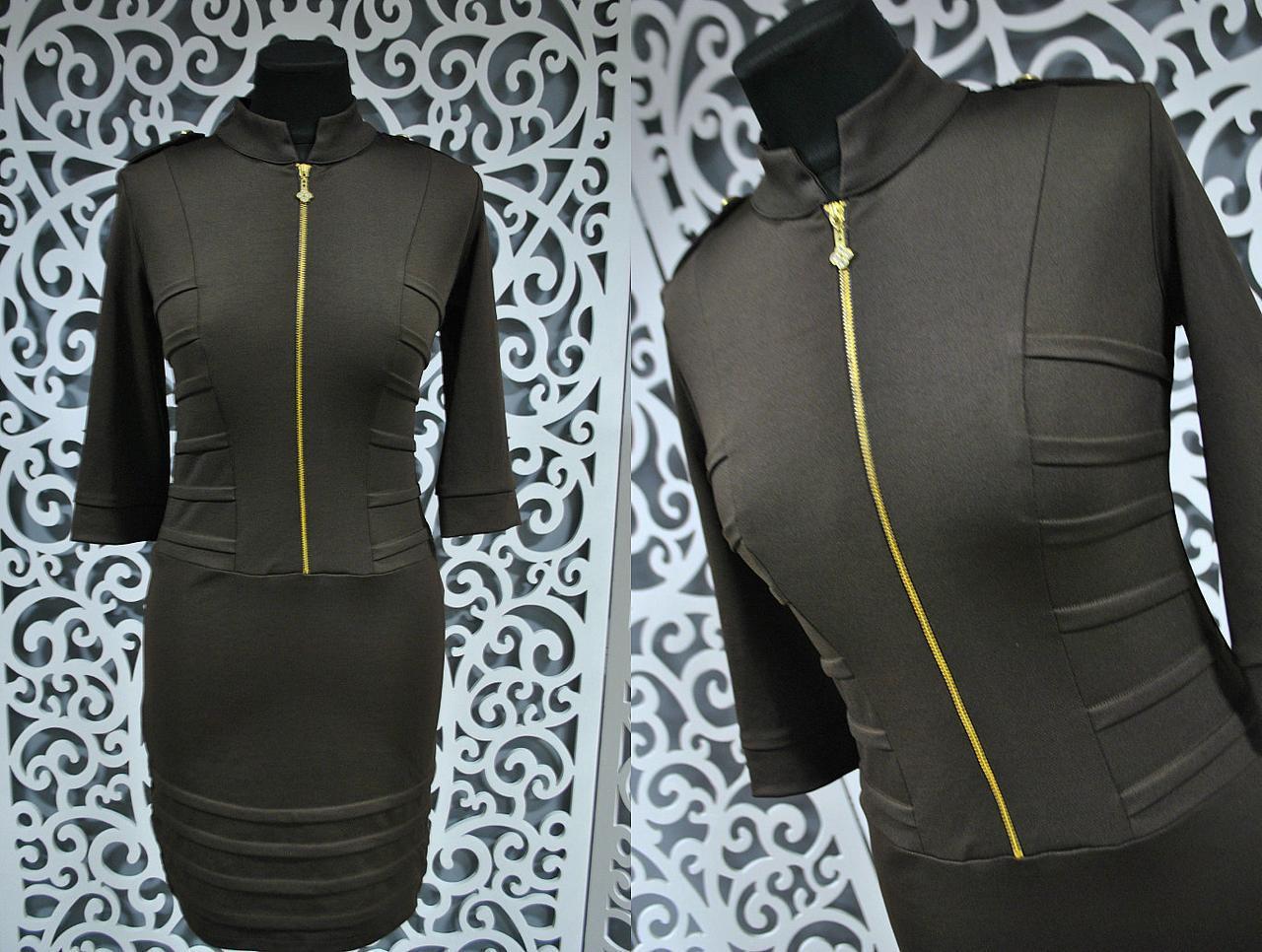 """Изысканное женское платье ткань """"Французский трикотаж"""" 42 размер норма"""