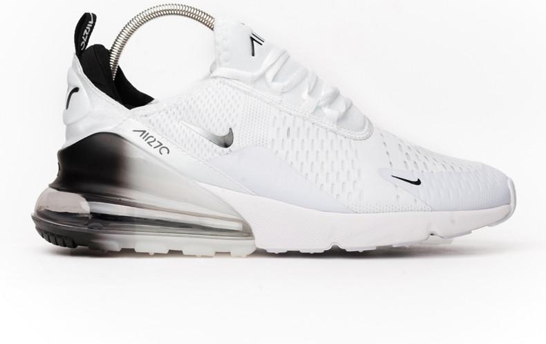 2f65b40b Кроссовки мужские Nike Air Max 270 White/Black (Реплика ААА класса) - BeComf