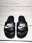 Мужские шлепки Nike (черные) , фото 2