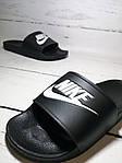 Мужские шлепки Nike (черные) , фото 3