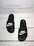 Мужские шлепки Nike (черные) , фото 5