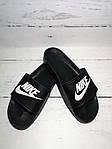 Мужские шлепки Nike (черные) , фото 7