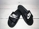 Мужские шлепки Nike (черные) , фото 8