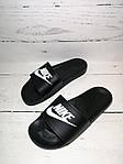 Мужские шлепки Nike (черные) , фото 10