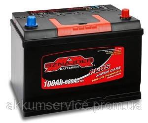 Аккумулятор автомобильный Sznajder Plus Japan 100AH R+ 680А (60032)