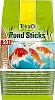Корм для всех видов прудовых рыб Tetra Pond Sticks в палочках 50 л