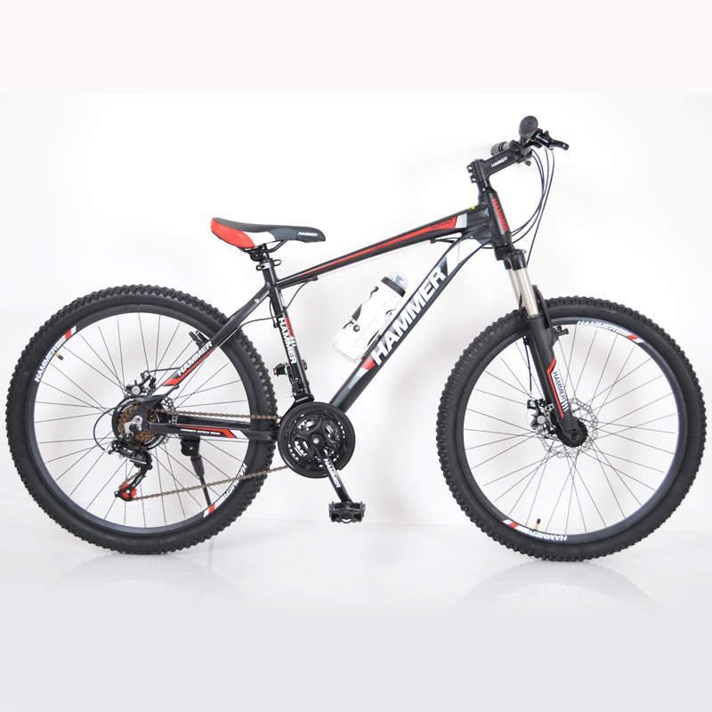 Горный  Велосипед HAMMER-26 White-Red Япония Shimano. Черно-Красный