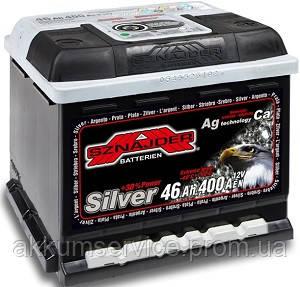Акумулятор автомобільний Sznajder Silver 46AH R+ 400А (54625)
