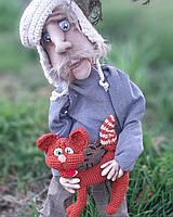 Домой Степан .Интерьерная кукла