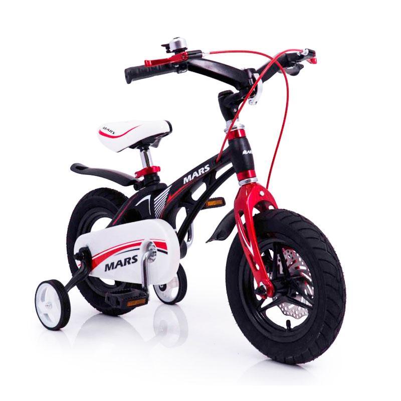 """Детский Велосипед """"MARS-12"""" Дюймов Black Складной Руль"""