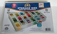 Коробка-органайзер DMC для бобин + 50 бобин, 6118/6