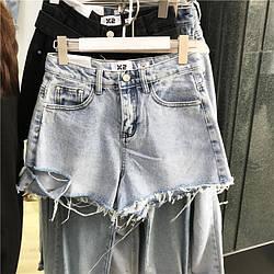 Женские джинсовые шорты. Размер S