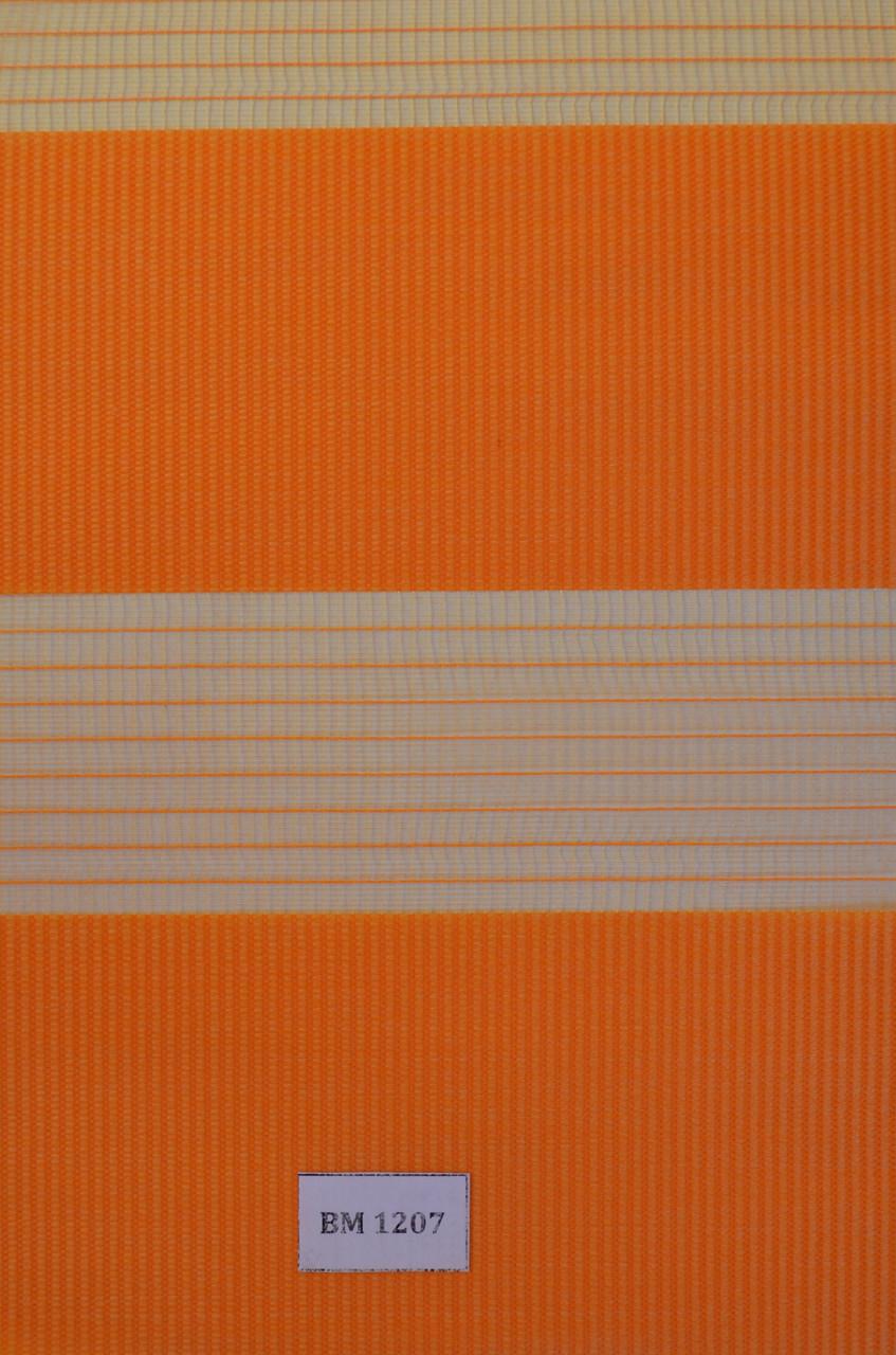 Рулонні штори день-ніч оранж ВМ-1207