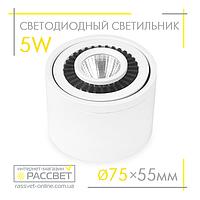 Светодиодный LED светильник Feron AL523 5W 4000K 360Lm акцентный поворотный