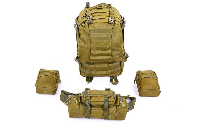 Рюкзак тактический рейдовый SILVER KNIGHT 55 литров TY-213