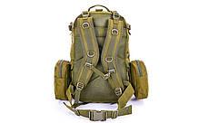 Рюкзак тактический рейдовый SILVER KNIGHT 55 литров TY-213, фото 2