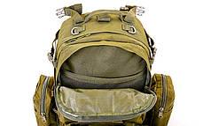 Рюкзак тактический рейдовый SILVER KNIGHT 55 литров TY-213, фото 3