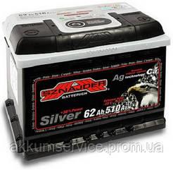 Акумулятор автомобільний Sznajder Silver 62AH R+ 540А (56225)