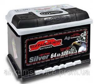 Акумулятор автомобільний Sznajder Silver 64AH R+ 530А (56425)