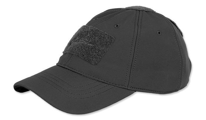 Зимова бейсболка Helikon Tactical Baseball Winter Black Cap (CZ-BBW-FS-01)