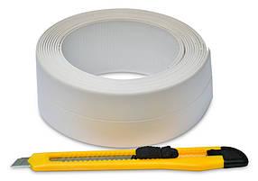 Бордюрная лента Favorit для ванной + нож 41 мм х 3.2 м (10-502)