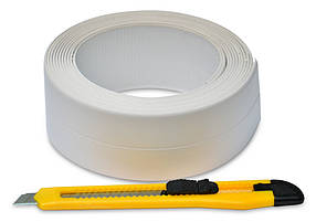 Бордюрная лента Favorit для ванной + нож 62 мм х 3.2 м (10-503)