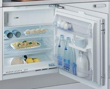 Холодильник встраиваемый 129л Whirlpool ARG 590/A+