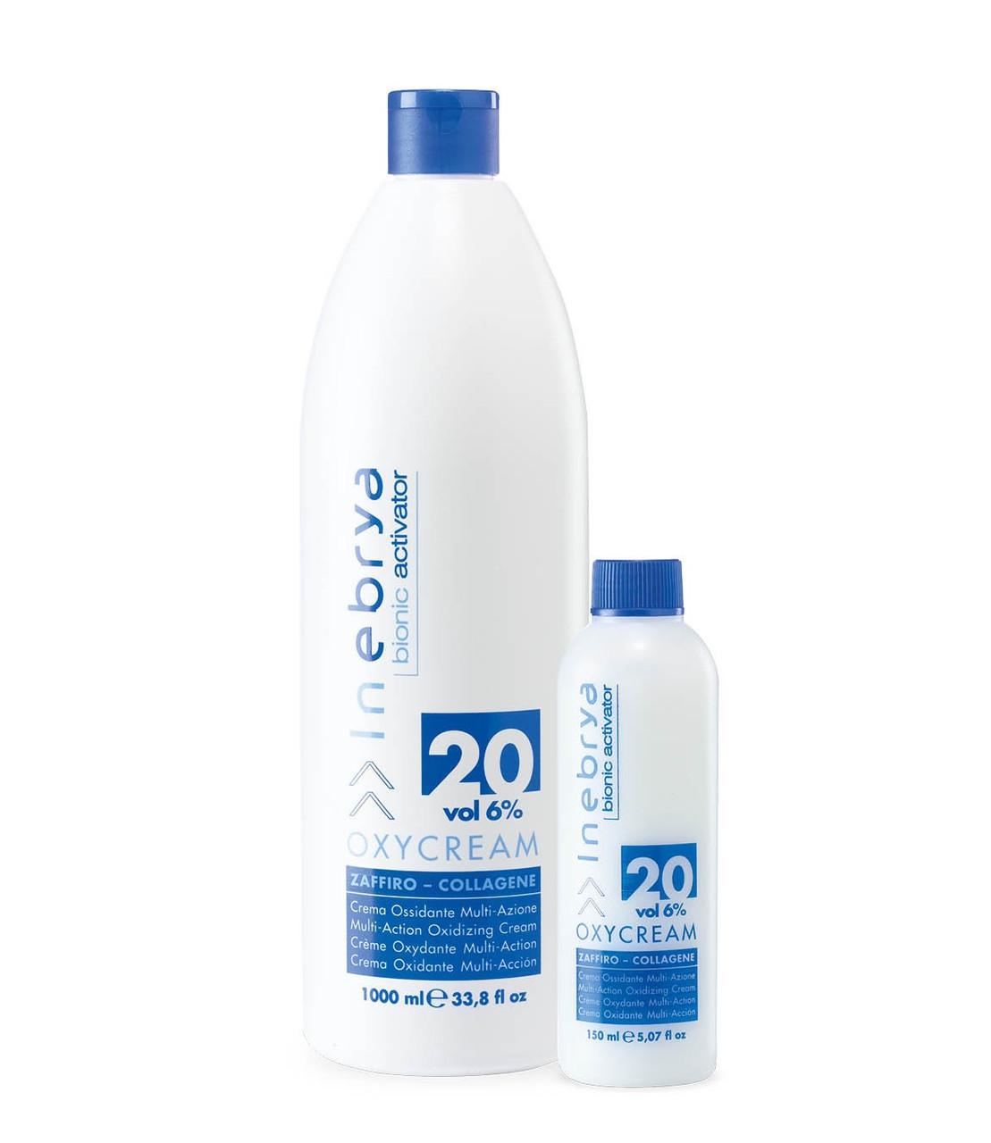 Крем-Окислитель Inebrya Bionic Activator Oxyсream 20 Vol 6% 1000 мл (1523)