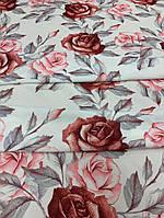 """Одежная ткань """"Yuliia"""" с принтом цветы"""