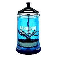 Контейнер скляний для дезінфекції інструментів Mid Size Jar Barbicide, Barbicide, 750 мл