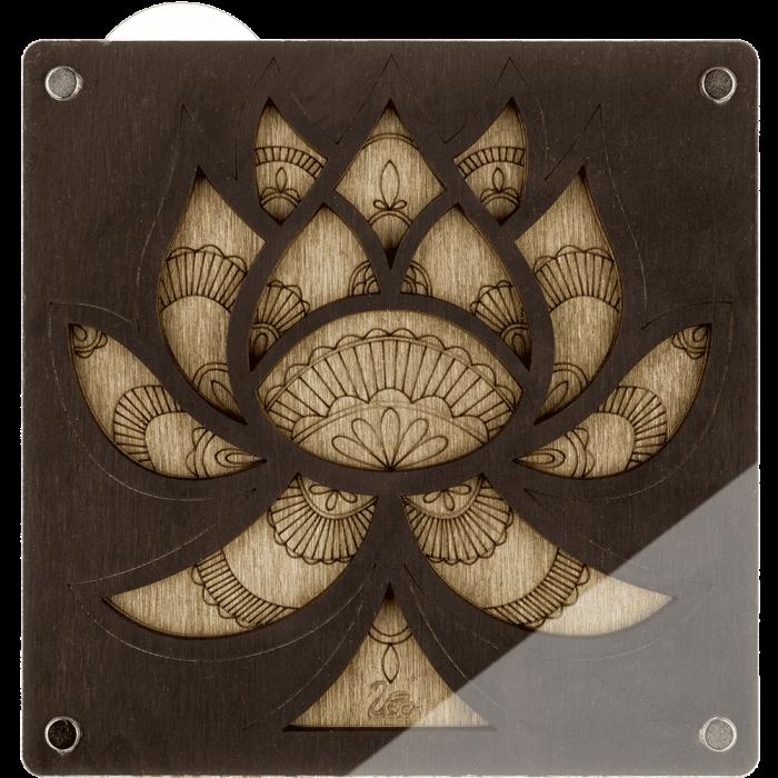 Органайзер для бисера с крышкой FLZB-043