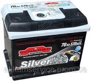 Акумулятор автомобільний Sznajder Silver 70AH L+ 570А (57026)