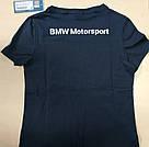 Оригінальна жіноча футболка BMW Motorsport, фото 5