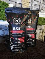 Свіжообсмажена кава в зернах Brazil 1 кг