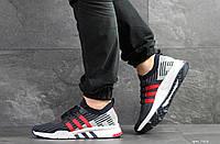 04d7eeb8 Кроссовки мужские темно синие с красным Adidas Equipment 91/18, весенние  кроссовки