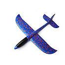 Сверх быстрый метательный самолет планер трюкач на дальнее расстояние (Синий), фото 3