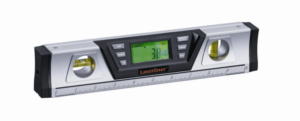 Цифровой электронный уровень с лазером 30 см DigiLevel Pro Laserliner  081.212A