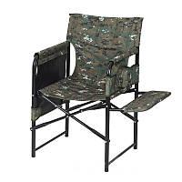 """Складной стул-кресло на природу """"Режиссёр с мягкой полкой Эконом"""", стул на дачу или на рыбалку"""