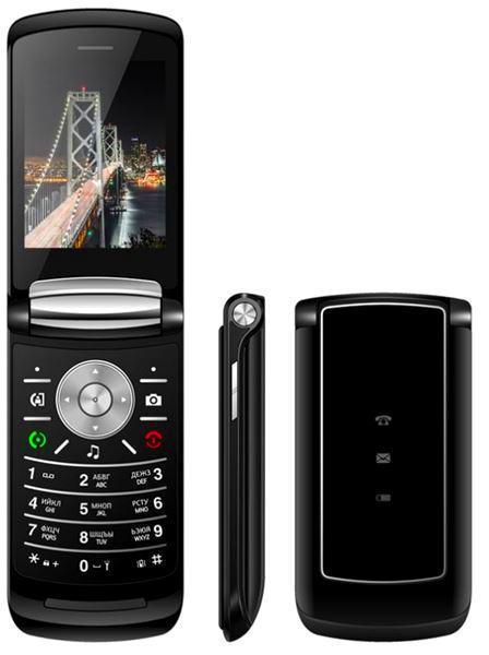 Мобильный Телефон Nomi i283 Black(Dual Sim)