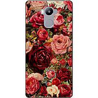 Чехол силиконовый бампер для Xiaomi Redmi 4 Redmi 4 Prime с рисунком Красные Розы