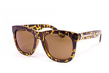 Солнцезащитные очки в леопардовой оправе (5060), фото 2